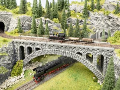 NOCH 58671 <br/>Rhône-Viadukt für Schmalspurbahnen