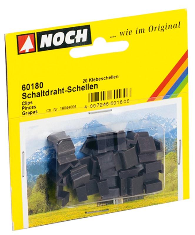 NOCH 60180 <br/>Schaltdraht-Schellen