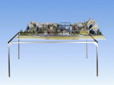 NOCH 62070 <br/>Alu-Zargensystem, 120 x 70 cm