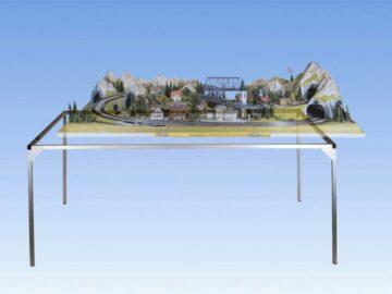 NOCH 62100 <br/>Alu-Zargensystem, 120 x 100 cm 1
