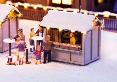 """NOCH 65610 <br/>Kombi-Set """"Auf dem Weihnachtsmarkt"""""""