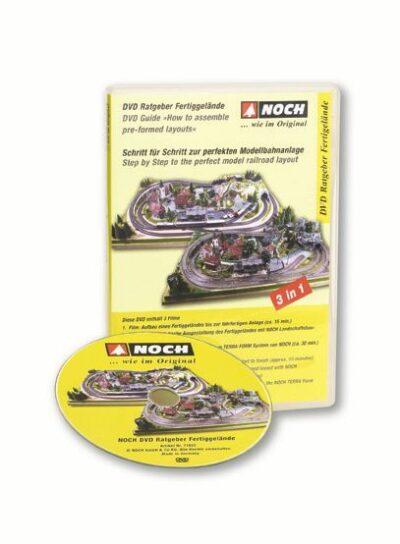 """NOCH 71922 <br/>DVD-Ratgeber """"Fertiggelände"""""""
