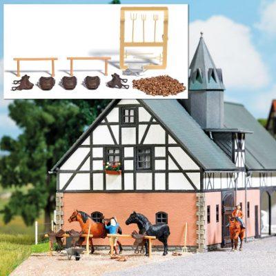 BUSCH 1027 <br/>Reiterhof-Ausgestaltung