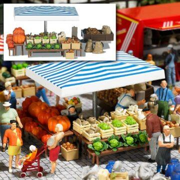 BUSCH 1070 <br/>Marktstand »Gemüse« 1