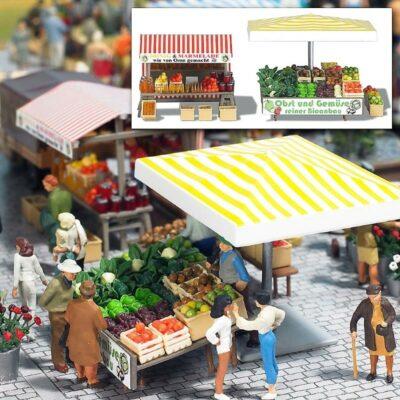 BUSCH 1071 <br/>Marktstand »Obst&Gemüse«