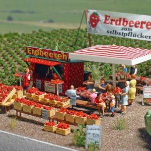 BUSCH 1073 Erdbeerverkauf