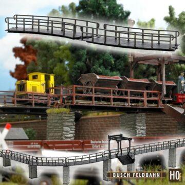 BUSCH 12386 <br/>Brücke gebogen 1
