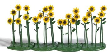BUSCH 1240 <br/>Sonnenblumen, fertig montiert, 24 Stück 1