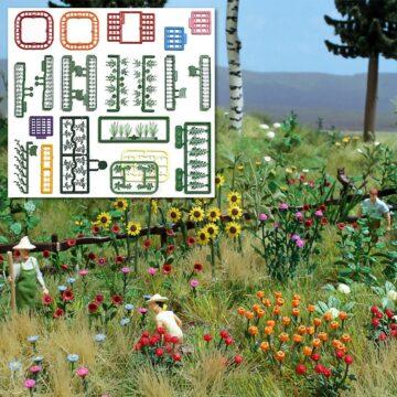 BUSCH 1258 <br/>»Natur Pur« Blumen- und Pflanzen-Set 1