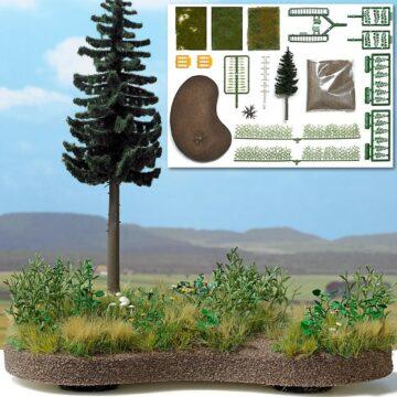 BUSCH 1259 <br/>»Natur Pur« Bodengestaltungs-Set 1