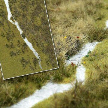 BUSCH 1313 <br/>»Groundcover«-Bodendecker: Flusslandschaft 1