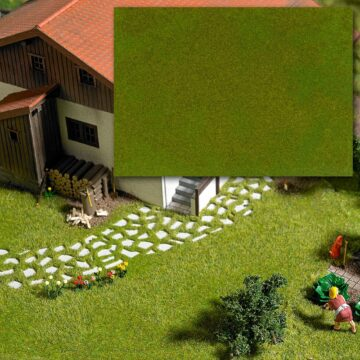 BUSCH 1318 <br/>»Groundcover«-Bodendecker Maigrün/Gelbgrün 1