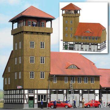 BUSCH 1450 <br/>Feuerwehrgebäude »Schwenningen« (Requisitenhaus) 1