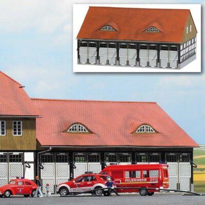 BUSCH 1451 <br/>Fahrzeughalle Feuerwehr »Schwenningen«