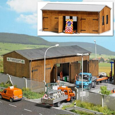 BUSCH 1456 <br/>Fahrzeughalle