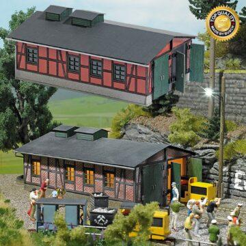 BUSCH 1475 <br/>Lokschuppen für Grubenbahnen 1