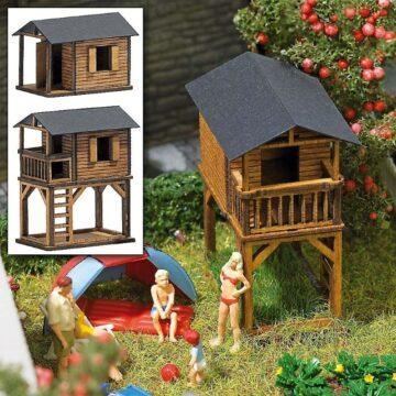 BUSCH 1486 <br/>Spielhäuser, 2 Stück 1