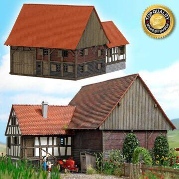 BUSCH 1503 <br/>Kleinbauernhaus aus Mennwangen 1