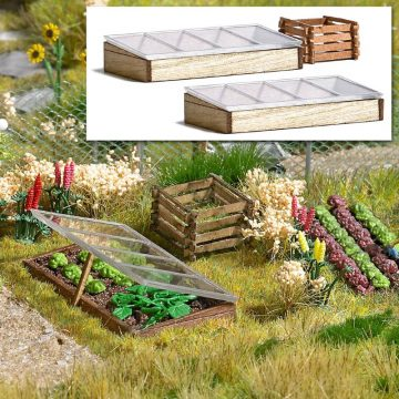 BUSCH 1523 <br/>Frühbeetkästen und Komposter 1
