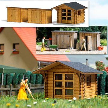 BUSCH 1529 <br/>Gartenhaus und Schuppen 1