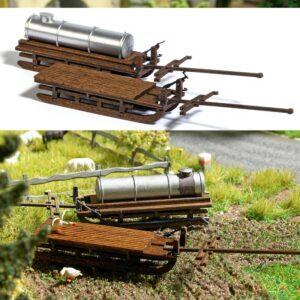 BUSCH 1631 <br/>Zwei Transportschlitten