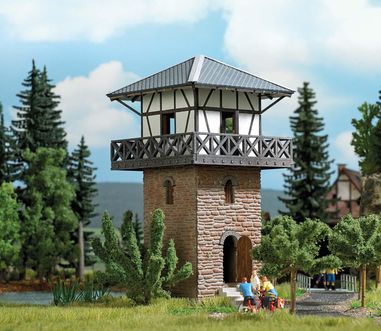BUSCH 1639 <br/>Limes Turm  H0