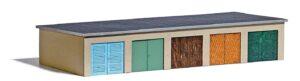 BUSCH 1648 <br/>Garagenkomplex H0