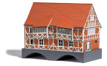 BUSCH 1656 <br/>Brückenhaus H0 1