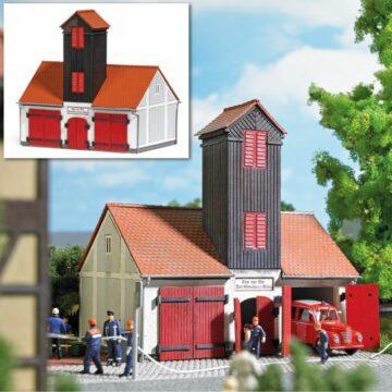 BUSCH 1660 <br/>Feuerwehrgebäude »Jonaswalde« 1