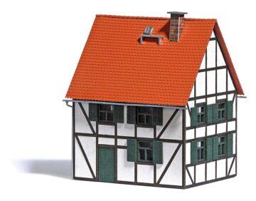 BUSCH 1666 <br/>Fachwerkhaus H0 1