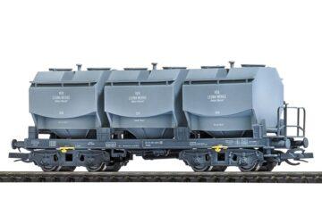BUSCH 33570 <br/>Kalkkübelwagen mit V-Kübel »Leuna« DR 1