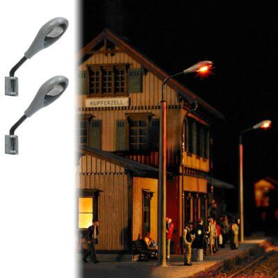 BUSCH 4133 <br/>Industrie-Leuchten, 2 Stück