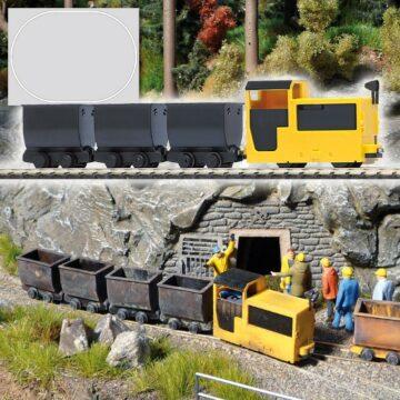 BUSCH 5000 <br/>Grubenbahn Start-Set 1