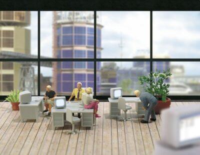 BUSCH 5402 <br/>Büro-Set