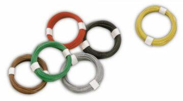 BUSCH 5792 <br/>Micro-Kabel grün 1
