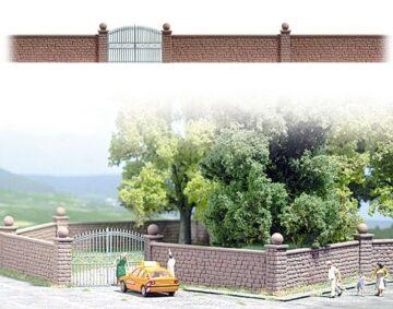 BUSCH 6014 <br/>Steinmauer mit Tor 1