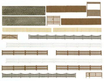 BUSCH 6017 <br/>Zäune, Mauern und Tore 1
