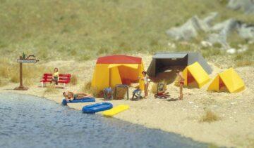 BUSCH 6026 <br/>Motiv-Set: Ein kleiner Campingplatz 1