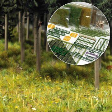 BUSCH 6043 <br/>Starter-Kit: Bodengestaltung Wiese & Wald 1