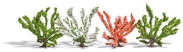 BUSCH 6064 <br/>Frühlingsbüsche, 4 Stück 1
