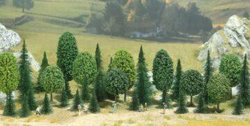 BUSCH 6490 <br/>Bäume, Mischwald, Packung 1