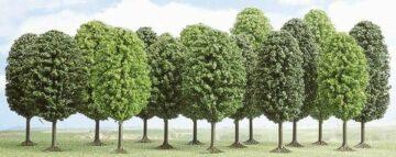 BUSCH 6586 <br/>Laubbäume, 12 Stück 1