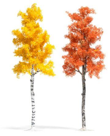 BUSCH 6794 <br/>Platane und Birke Herbstbraun 1