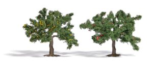 BUSCH 6849 <br/>2 Fallobstbäume H0 (75)