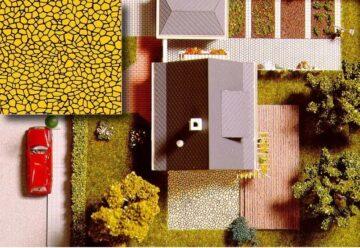BUSCH 7037 <br/>Dekoplatten: Terrassenbelag 1