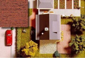BUSCH 7039 <br/>Dekoplatten: Holzdielen 1