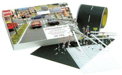 BUSCH 7096 <br/>Straßenbau-Set