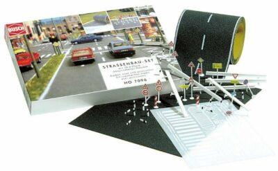 BUSCH 7097 <br/>Straßenbau-Set