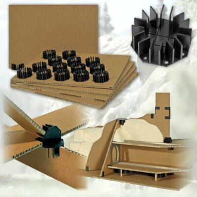 BUSCH 7206 <br/>Geländebau-Stecksystem mit Wabenplatten