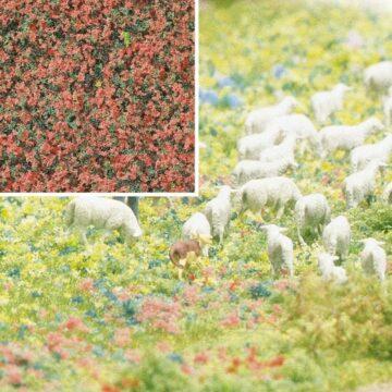 BUSCH 7356 <br/>Blütenflocken Heide 1